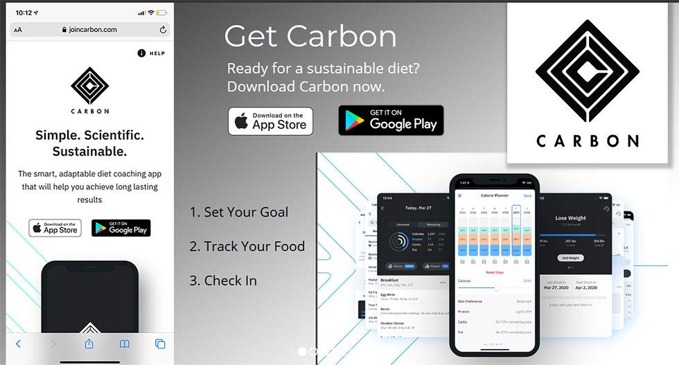 carbon app